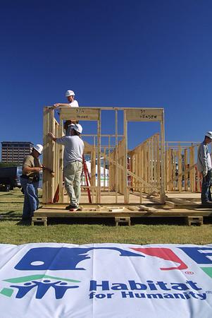Habitat for Humanity MLB World Series Build