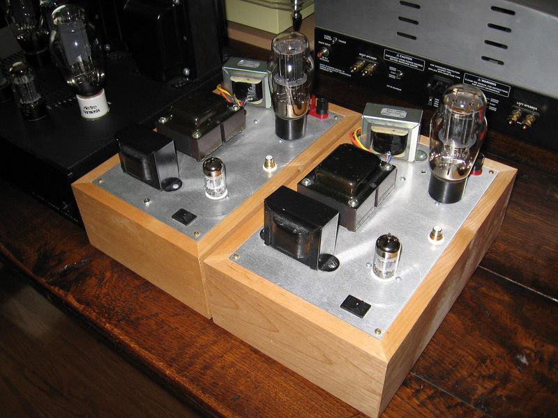 Bottlehead Paramour 2A3 monoblocks.