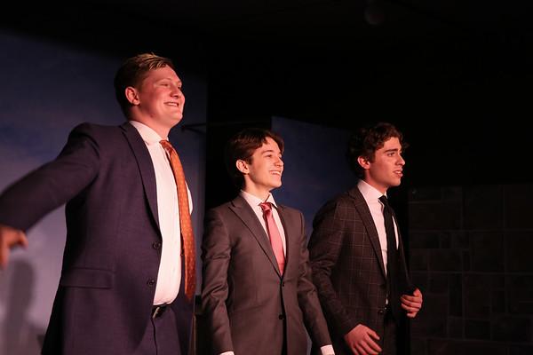 Senior Concert: Brenden, Jakob, and Max