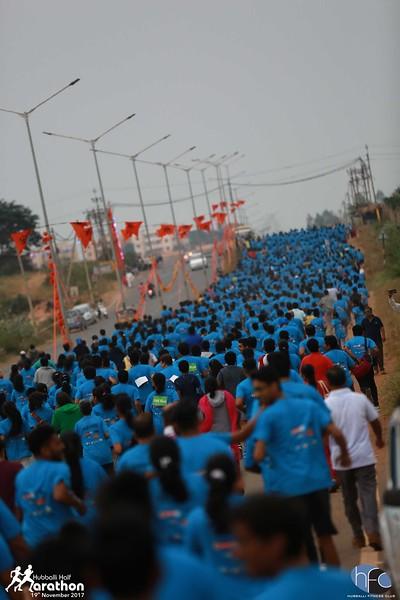 Hubballi Half Marathon 2017