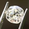 0.94ct Antique Cushion Cut Diamond GIA K Sl1 10