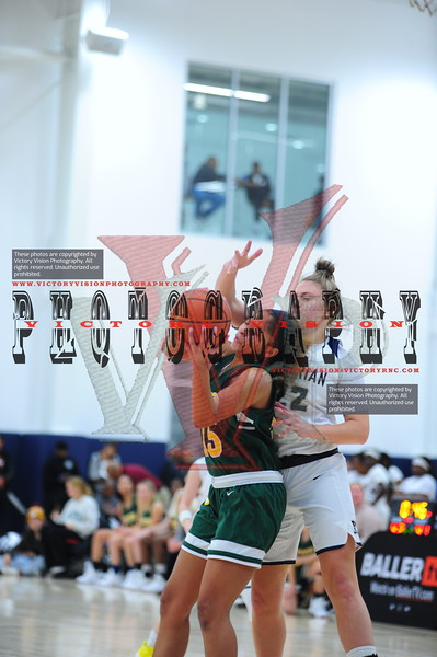 Georgetown Visitation (DC) Girls Varsity Basketball 12-13-19 | She Got Game