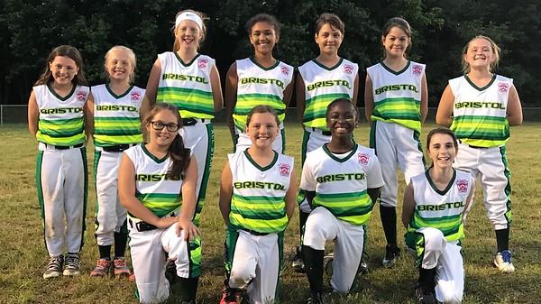 Bristol 10 year old softball all stars