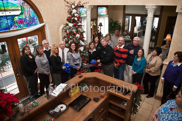 Ribbon Cutting at Silver Angels 12-13-11