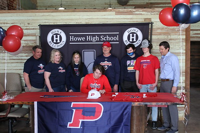 Dylan Hughs signs with OPSU, 1/15/2021
