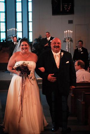 Paul & Amy's wedding ceremony