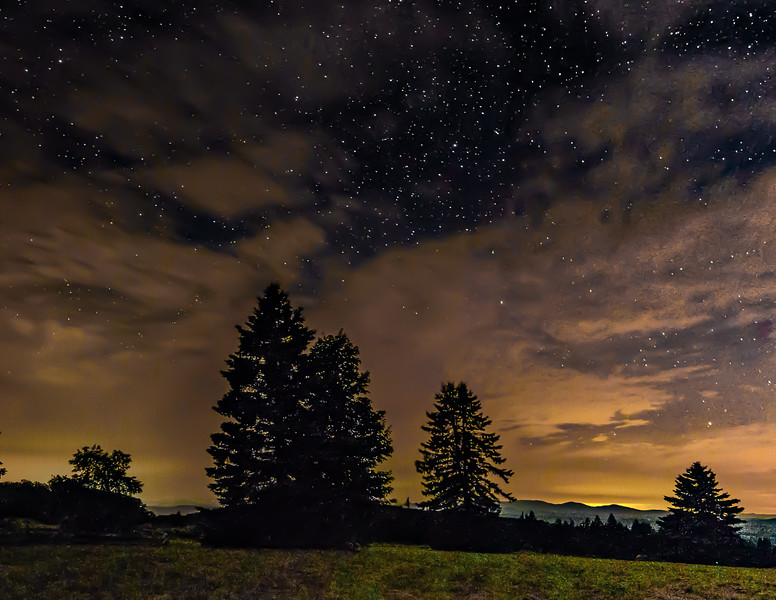 Summer Night in Cabot, Vermont