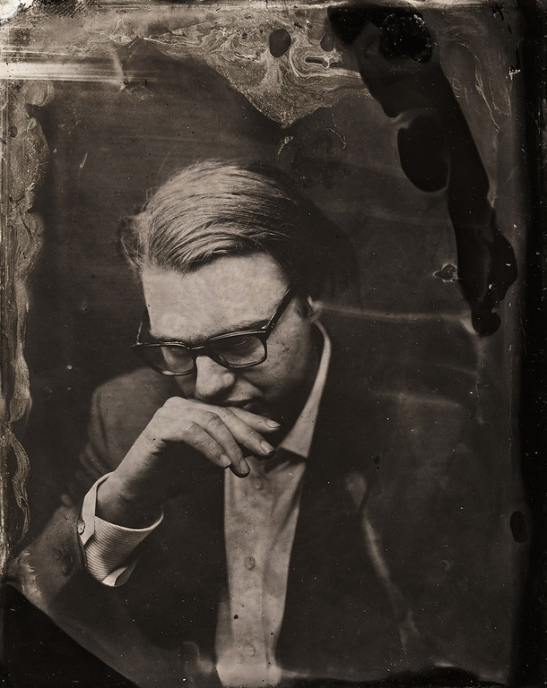 . Michael Pitt  poses for a tintype (wet collodion) portrait at The Collective and Gibson Lounge Powered by CEG, during the 2014 Sundance Film Festival in Park City, Utah. (Photo by Victoria Will/Invision/AP)
