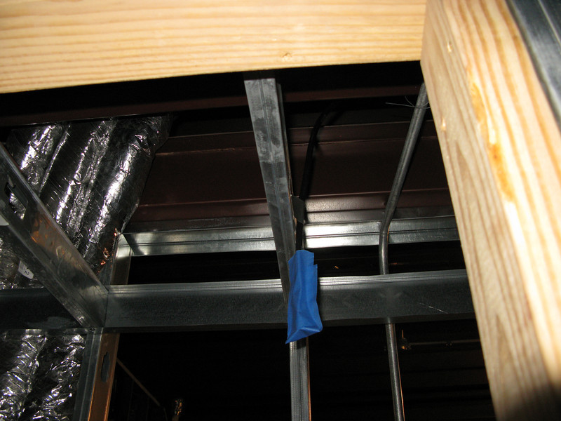 B/N room closet. 2nd floor Cell amplifier antenna.