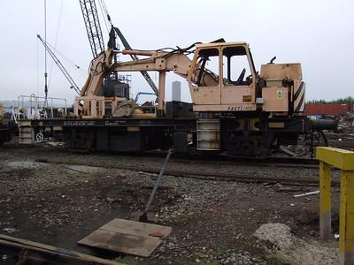 ZYB - Plasser & Theurer EPV 360 Rail Mounted Excavator Wagon