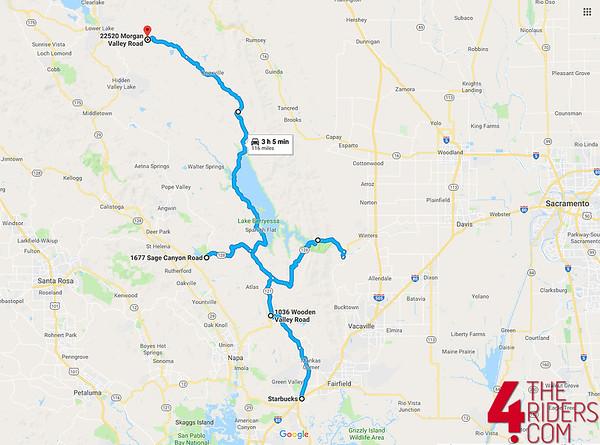 berryessa map