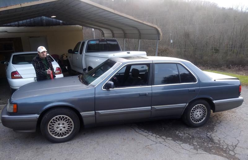 Chancey's 1990 Mazda