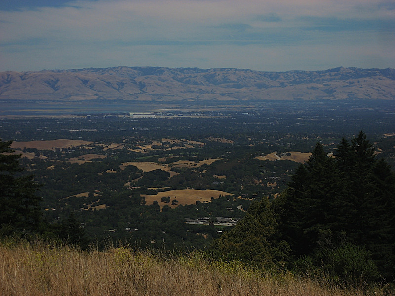 Bay Area from Windy Hill (You can see the NASA Hanger and Lockheed!)