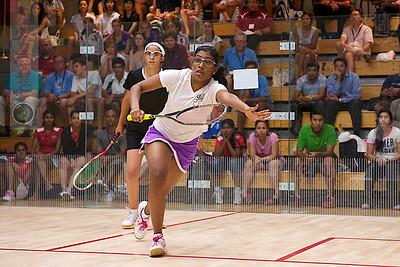 2011-07-22 4th Round: Nour El Tayeb (Egypt) and Anaka Alankamony (India)