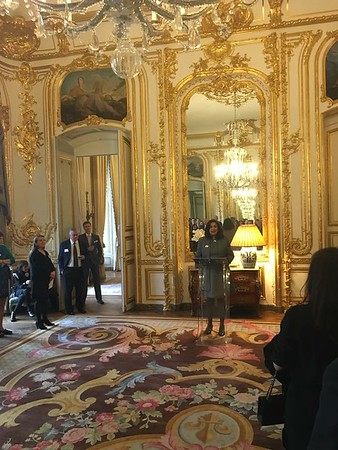 Reception at the Ambassador's Residence in Paris