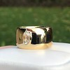 .30ct Rose Cut Diamond Cigar Band 1