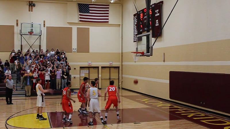 Basketball Score Foul James Stoll.MOV
