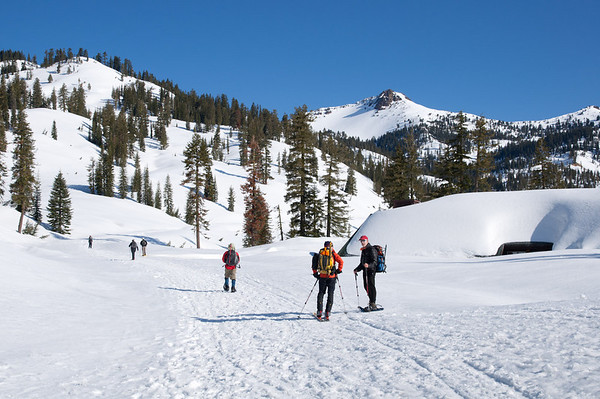 Lassen winter hike