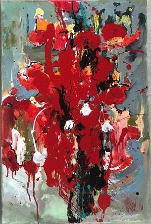 """Sip of love"" (oil on canvas) by Marina Berezina"