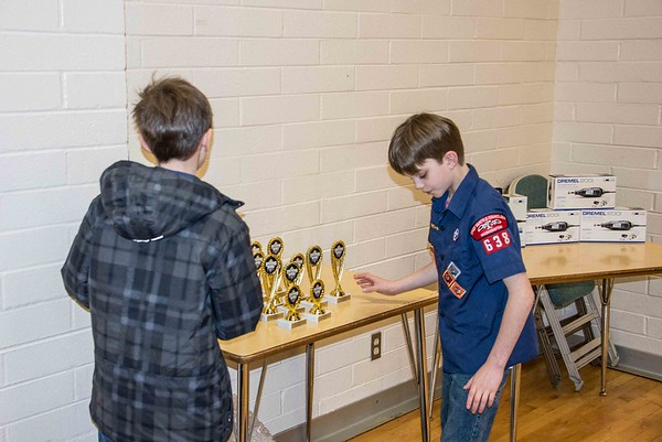 2018 Alpine District Pinewood Derby