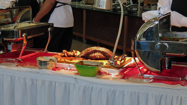 The Auto Center's annual Holiday feasts .  .  .