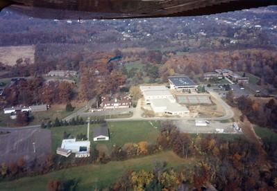 Aerial Views of Campus, 1989