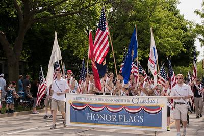 Memorial day 2019 - Glueckert Honor Flag Unit