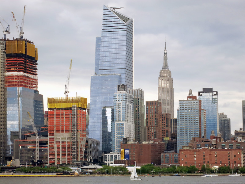 Hudson Yards and Empire State Building