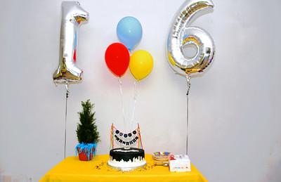 Lee's 16th Birthday celebration