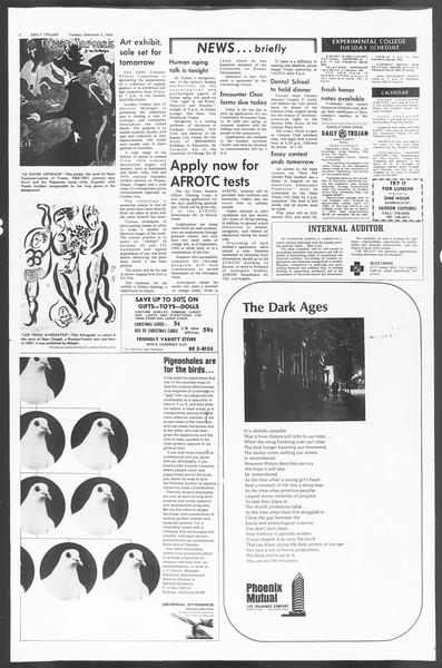 Daily Trojan, Vol. 60, No. 49, December 03, 1968