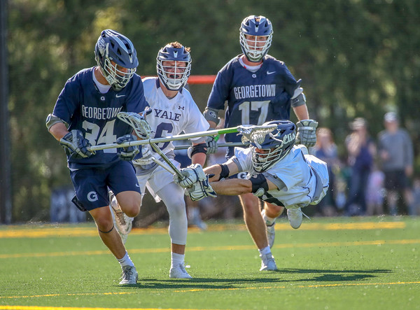 Yale vs Georgetown/NCAA 1st Rd playoff