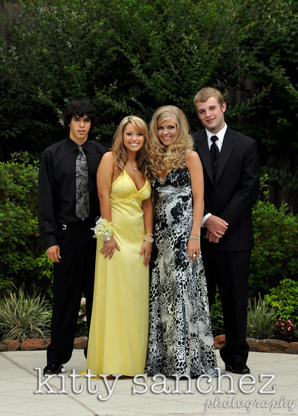 Prom 2009: Ashley and Alexandra (and their charming dates!)