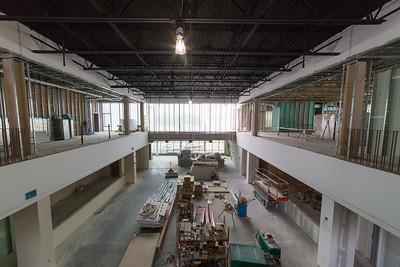 Campus Center West Construction