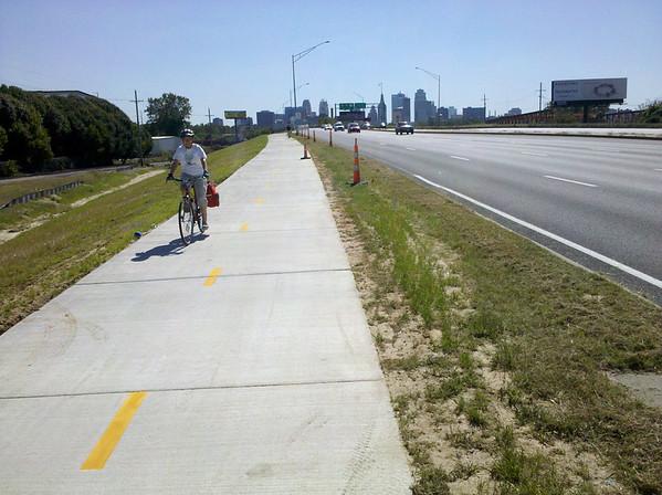 Heart of America Bridge Bicycle & Pedestrian Path Kansas City, MO