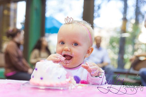Audrianas first birthday