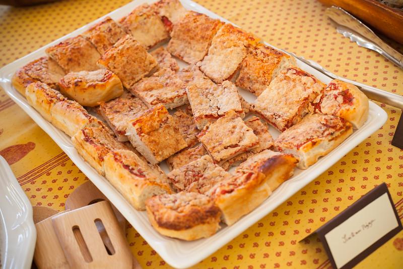 Mom also made Sicilian pizza