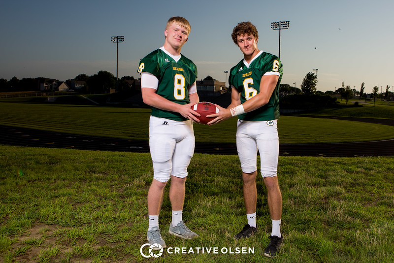 Gretna High School Football Team Senior Class 2016