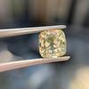 2.10ct Light Yellow Antique Peruzzi Cut Diamond, GIA W-X SI2 9