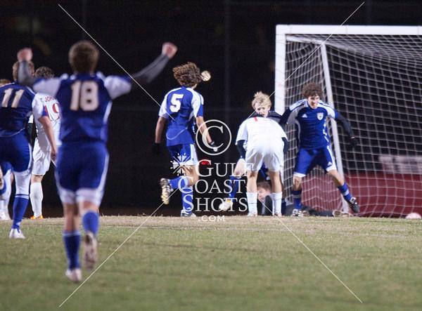 2010-01-29 Soccer Varsity Boys Kinkaid at SJS