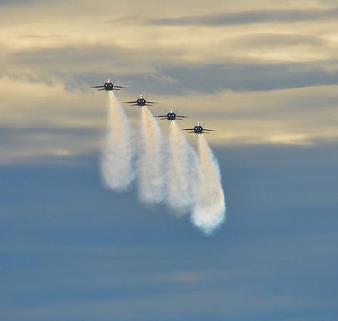 Blue Angels at Naval Air Facility El Centro January 31, 2015