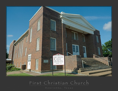 First Christian Church, Henrietta - Exterior