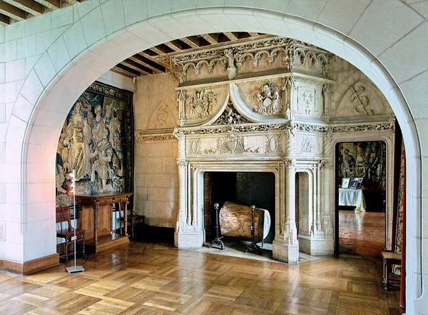Chateau de Chaumont sur Loire - Interieur