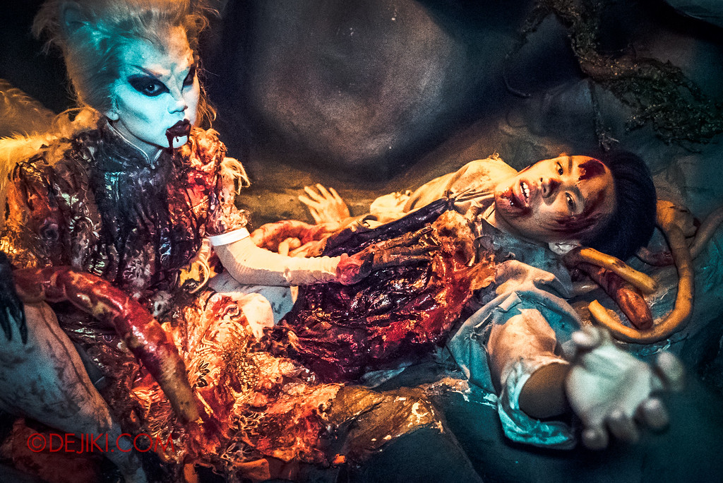 Halloween Horror Nights 6 Final Weekend - Hu Li's Inn revisited / Hu Li and Victim E