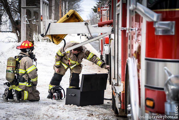 House Fire highway #1 Aylesford. Jan. 26, 2013