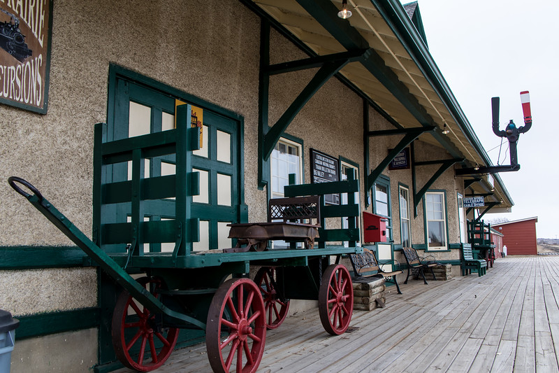 Big Valley Train Station