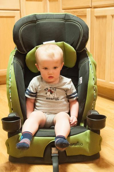 Breyden's Big Boy Seat for Granny's Car