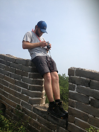 chen castle great wall hiking