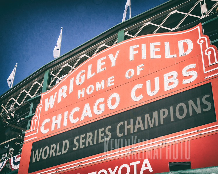 Wrigley Field - Home of the Chicago Cubs