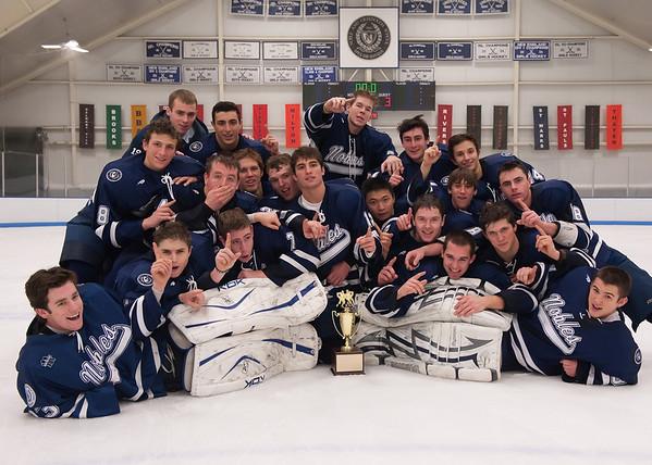 12/21/2008 - Flood Marr Finals - Nobles Boys Varsity Hockey vs Andover