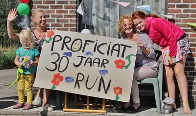 Zandbergrun 2016 - Eerste deel van de run